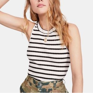 We the Free Fired Up Striped Sleeveless Tank